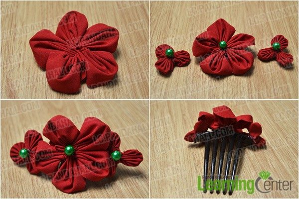 Easy DIY Christmas Hair Accessories Project To Try With Your Kids