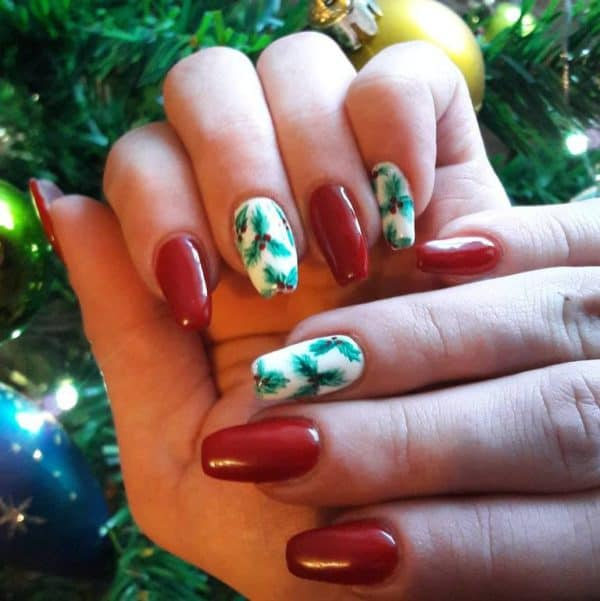 Creative Christmas Inspired Nails For A Festive Holidays