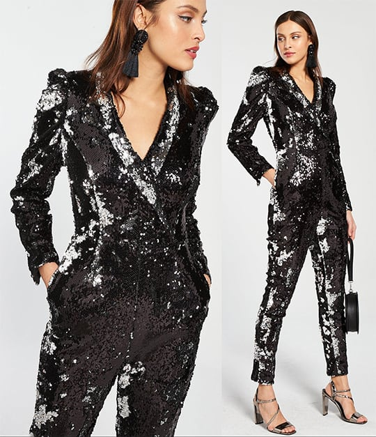 The Best Sequin Jumpsuits Outfits For The New Years Eve