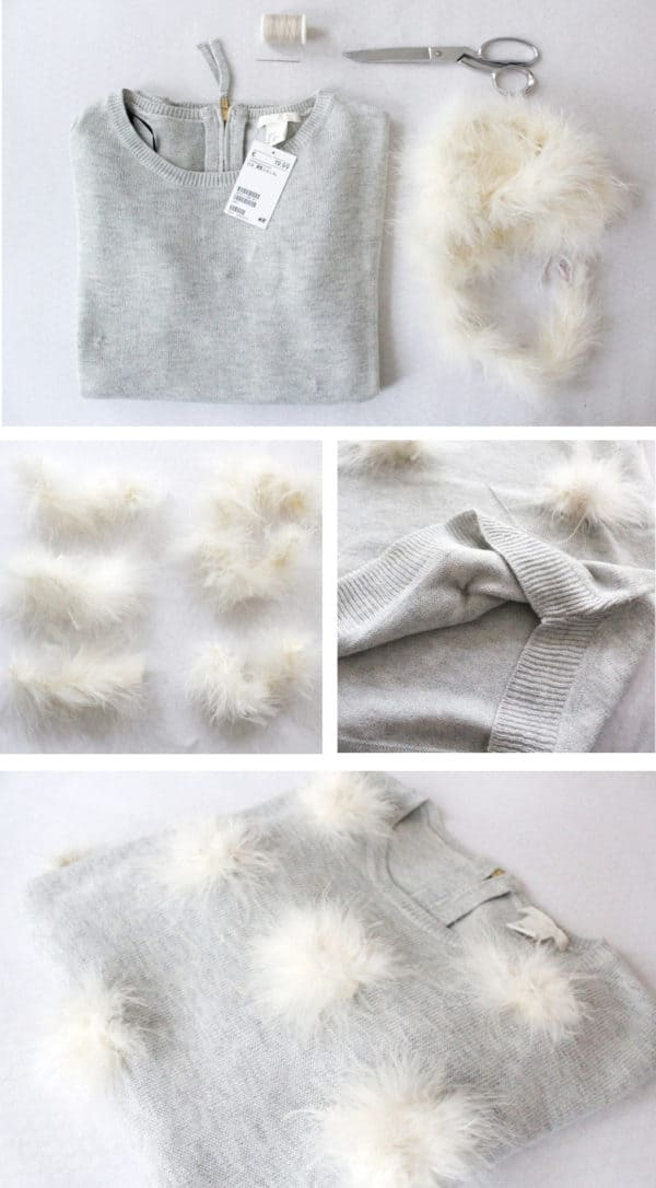 Step By Step DIY Tutorials To Upgrade Your Old Sweater Into A New Modern And Trendy Sweater