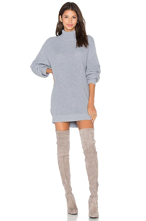 The Best Ways To Wear Sweater Dress During Winter