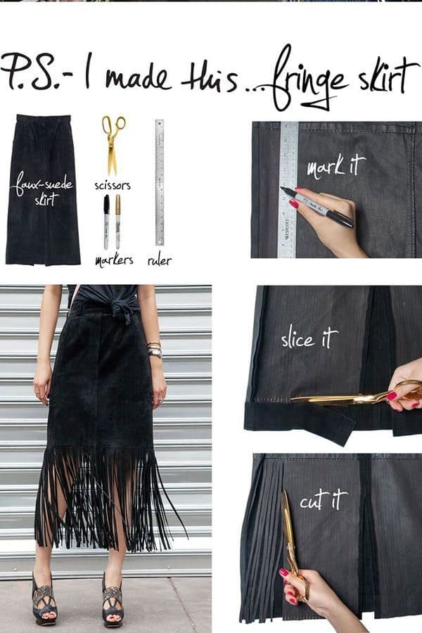 Inspiring DIY Skirt Tutorials To Try For The Spring That Is Up To Come