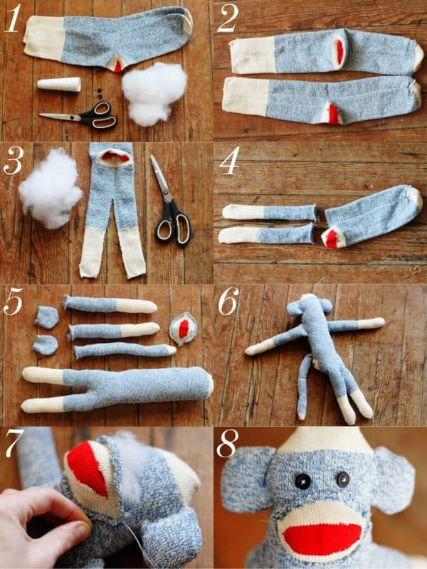 15 Creative DIY Projects To Re purpose Old Mismatching Socks
