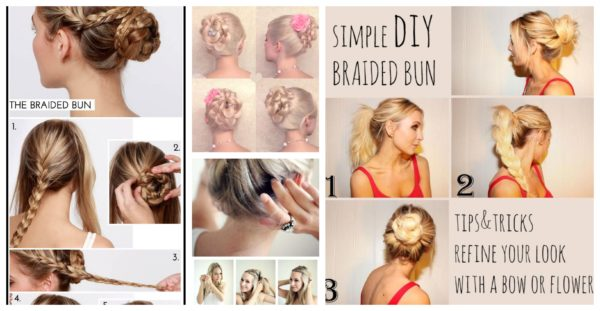 Terrific Easy Diy Braid Bun Hairstyle For Every Occasion Schematic Wiring Diagrams Phreekkolirunnerswayorg