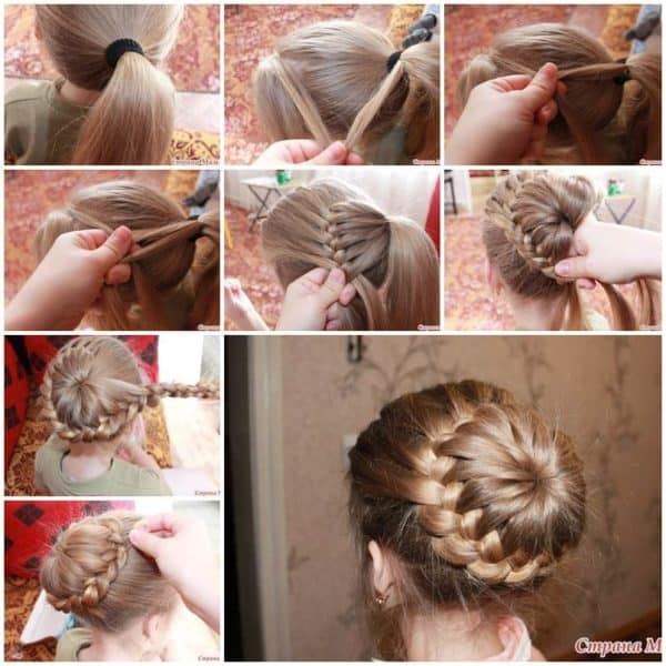 Easy DIY Braid Bun Hairstyle For Every Occasion