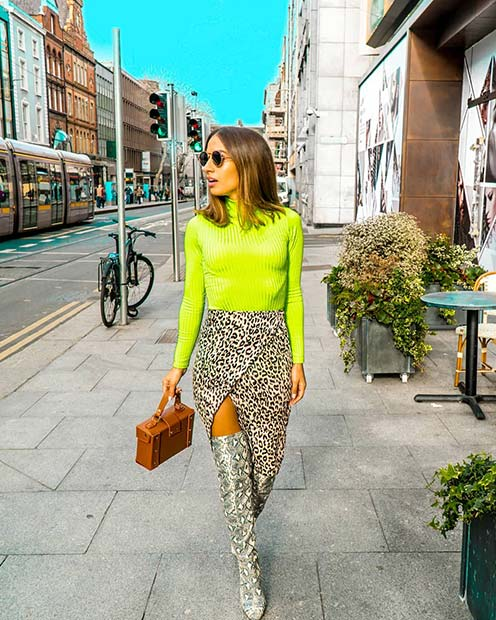 Inspiring Ways To Wear The Biggest Trend For Spring 2019: Neon Outfits That Will Leave You Speachless