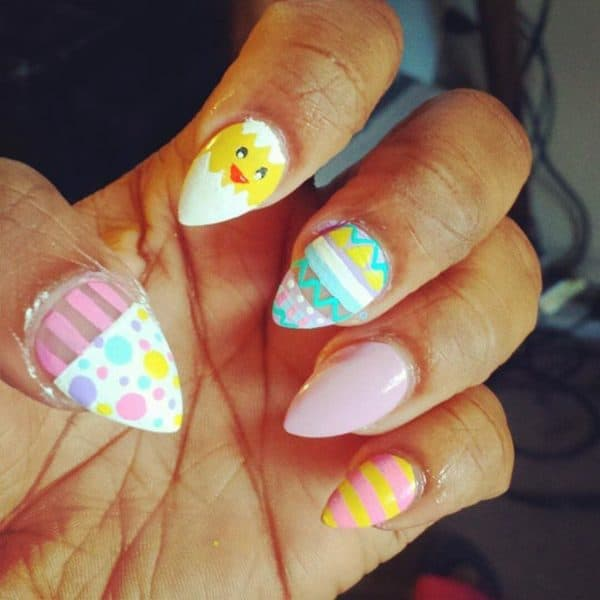 Nails  Art  Inspired By Easter To Celebrate The Holiday In Style