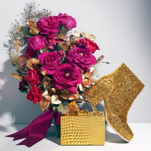 Magenta and Gold Wedding Decor Color Scheme For Bolder and Royal Wedding