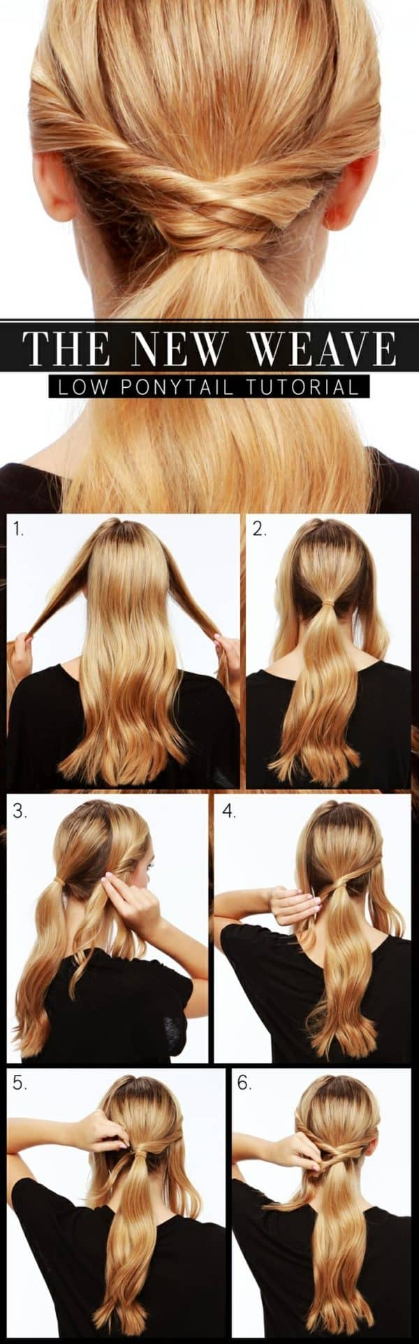 Chic DIY Pony Tails Hairstyles To Try This Spring