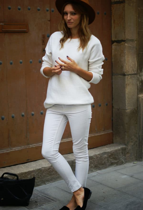 All White Outfits For Goddesses Look This Spring
