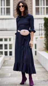 Chic Ways To Wear The Biggest Bag Trend For This Spring: Waist Purse