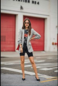 Fashion Trend Alert For Spring 2019: Bike Shorts And The Trendiest Ways To Style Them