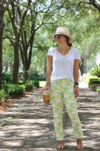 Eight Ways To Style Fruit Printed Pants This Spring