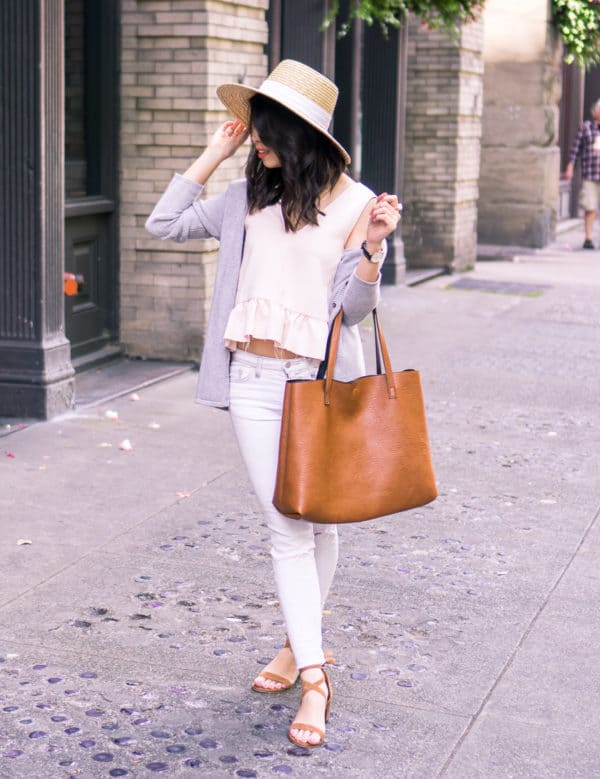 Fashion Guide Line To Stylish White Pants As A Fashionista