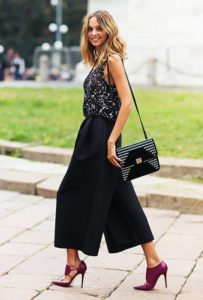 Stylish Ways To Wear Culottes And Look Modern And Trendy This Spring