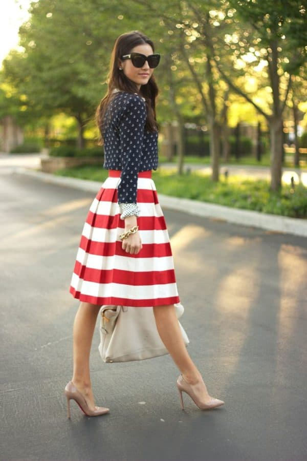 Fashion And Chic Patriotic Outfits To Celebrate The Independence Day In Style