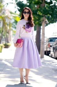 Chic Ways To Style Lilac And Stay Out Of The Crowd This Summer