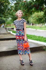 The Most Feminine Midi Skirts For A Flirty Look This Summer