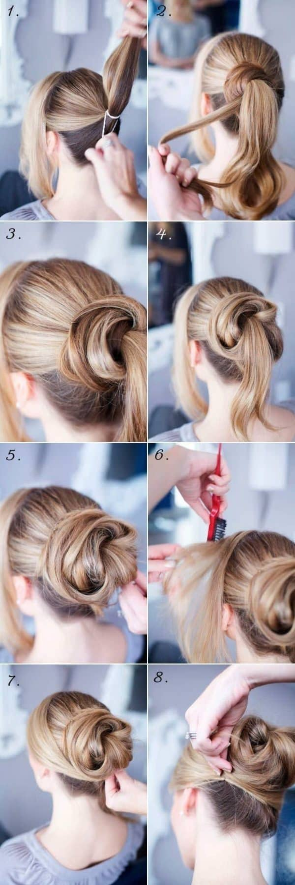 Step By Step Up Do Tutorials That Are Just Perfect For Wedding Guests