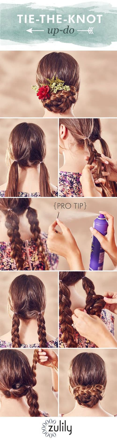 Quick And Easy Step By Step Hairstyles For Beginners
