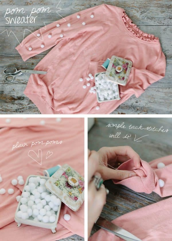 Fabulous DIY Sweater Makeover Ideas That You Are Going To Love