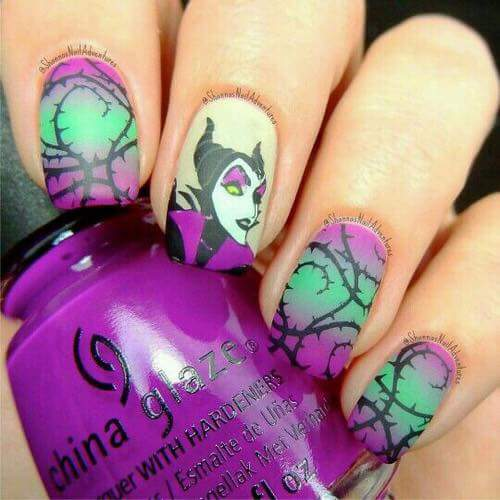 Interesting Disney Nails Designs That Even Adults Will Go Crazy For