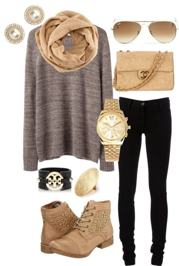 Casual Fall Polyvore Ideas To Keep You Warm And Modern In Fall