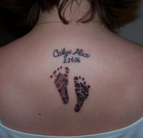 Sentimental Newborn Tattoo Ideas That Will Inspire You For Your New Special Tattoo As A Parent
