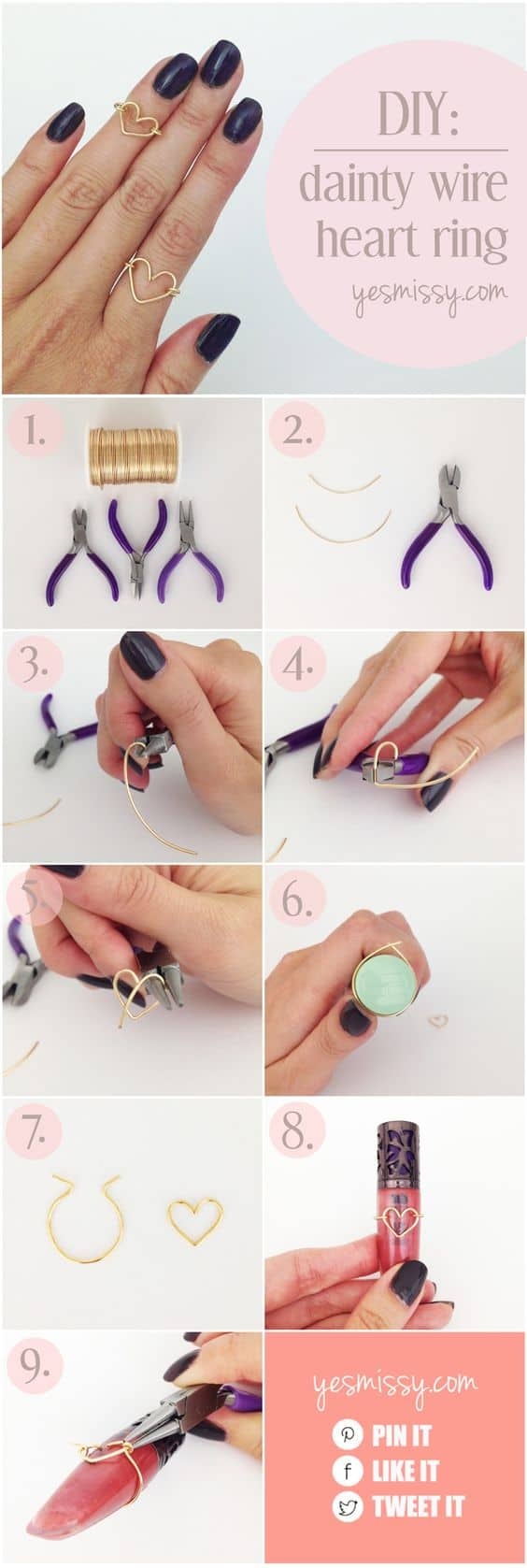 Gorgeous DIY Rings Tutorials That You Would Love To Make