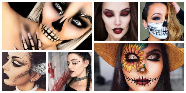 Last,Minute Halloween Makeup Ideas That Will Put You In The