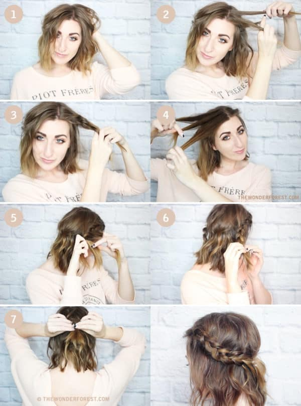 Exquisite Braided Bangs Tutorials That Will Grab Your Attention