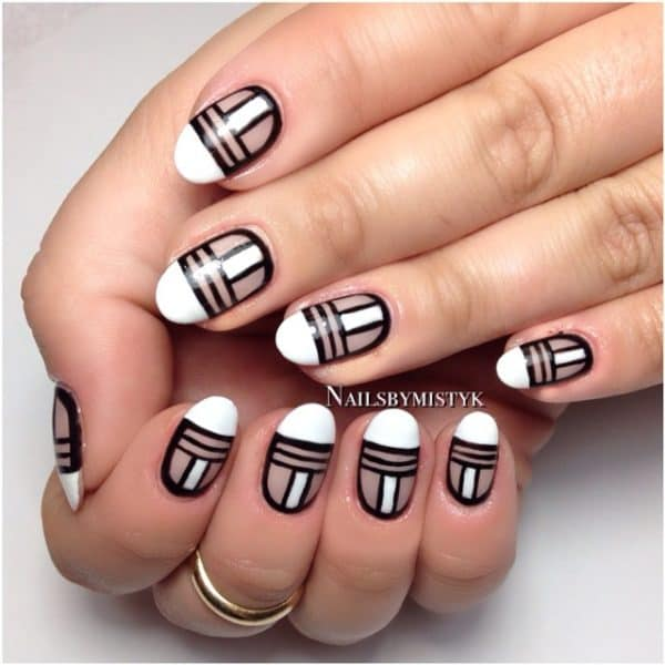 Negative Space Manicure Ideas That Are Sophisticated And Stylish