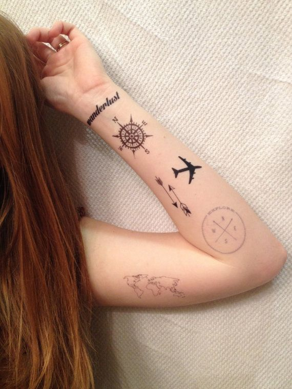Tremendous Travel Addict Tattoo Ideas That Are Perfect For All The Wanderlusts