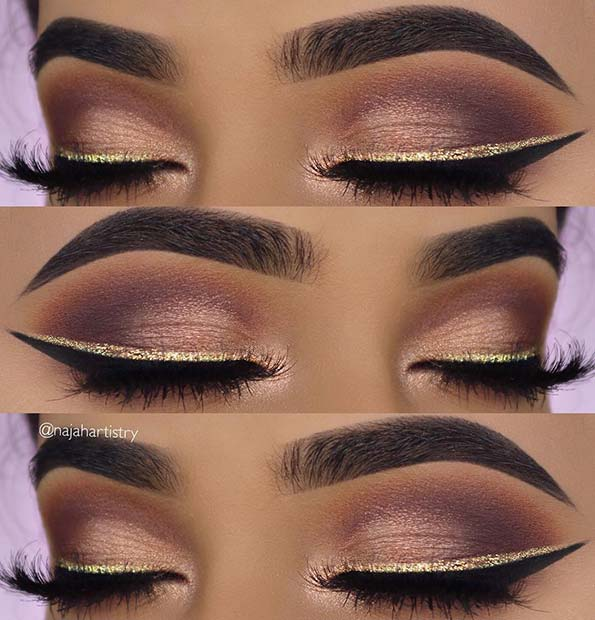 Glitter Makeup Ideas That Are Just Perfect For This Christmas