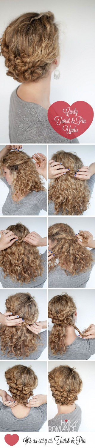 Fantastic Curly Hairstyle Tutorials That You Have To Check Out Now