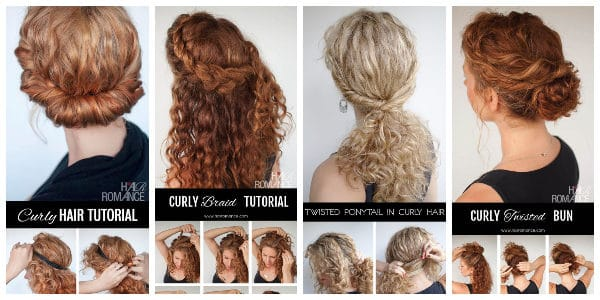 Fantastic Curly Hairstyle Tutorials That You Have To Check ...