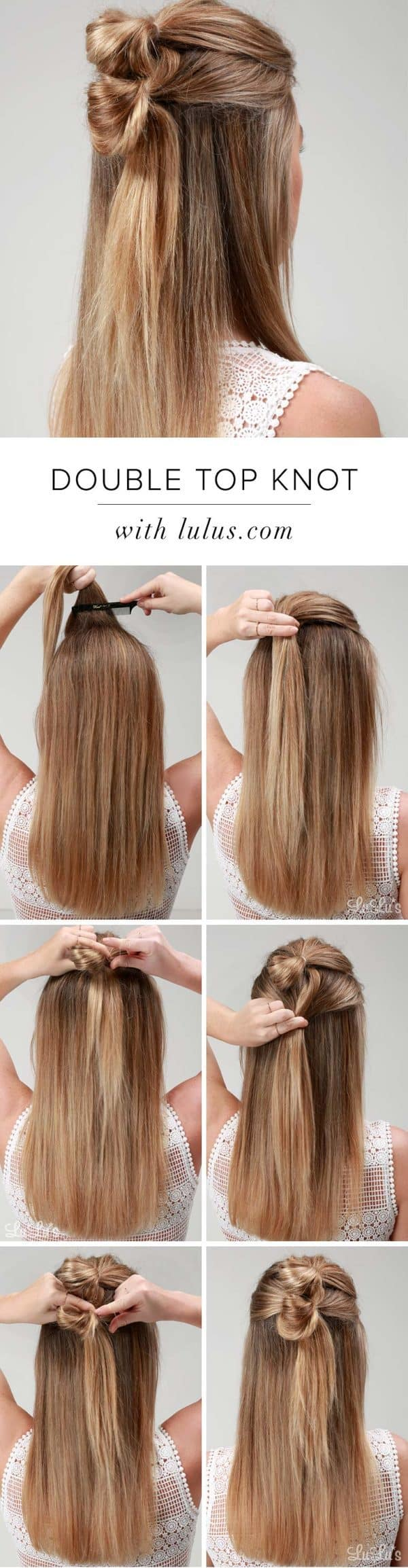 Awesome Hairstyle Tutorials That You Can Do In Less Than 5 Minutes