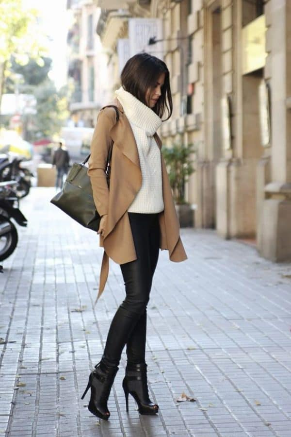 Stylish Leather Pants Outfits That Are Wonderful For This Winter