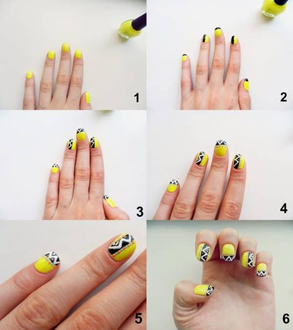 Simple And Pretty Nails Tutorials That Everyone Can Make