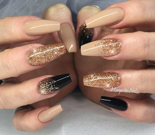 Sparkly New Year Nails Designs That Will Make You Say Wow