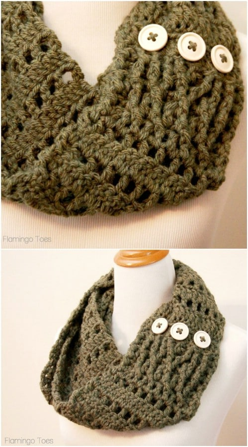 Pretty DIY Scarves That Will Make Winter Warm And Cozy