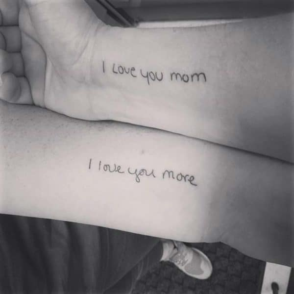 Pretty Mother And Daughter Tattoos That Will Warm Your Hearts