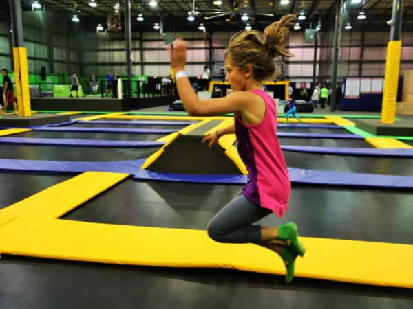 All about the exciting new trampoline park for your kids