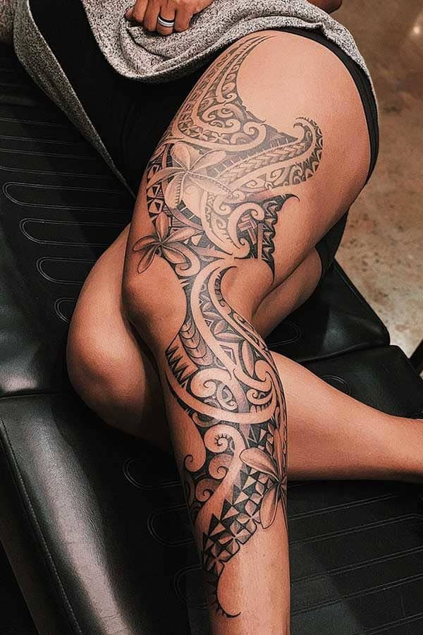 Terrific Tribal Tattoo Designs That Both Men And Women Will Love