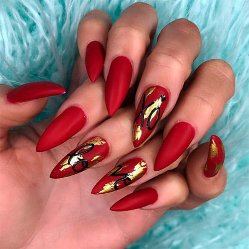 Romantic Valentines Day Nails That Will Make Your Heart Pound