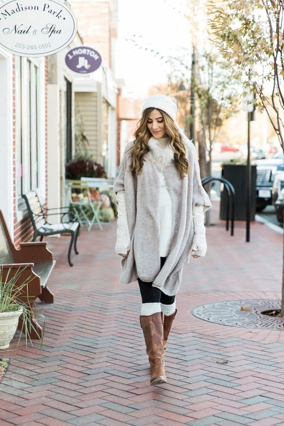 Winter Maternity Outfits That Will Make You Look Chic And Feel Comfy