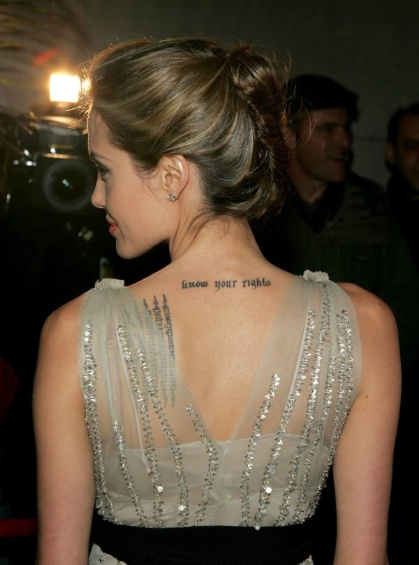 Attractive Back Neck Tattoos For Women That Will Make You Say Wow