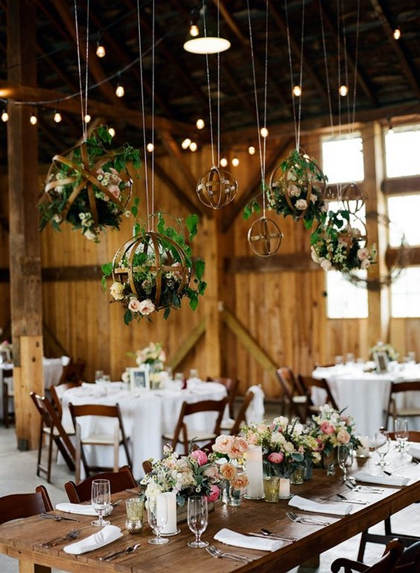 Beautiful Barn Wedding Decorations That You Are Going To Love