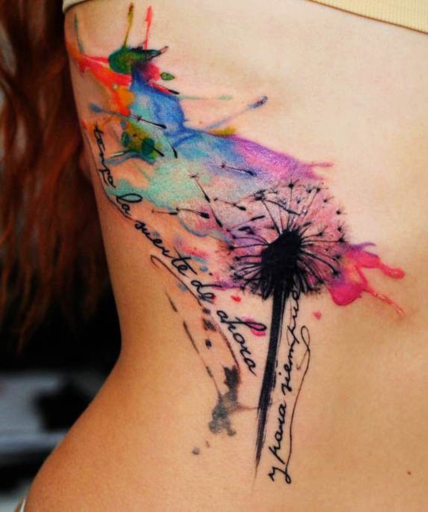 Dreamy Dandelion Tattoos That You Would Like To Get