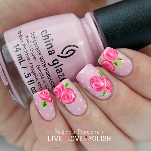 Stupendous Floral Nails Designs That Will Enchant You This Spring